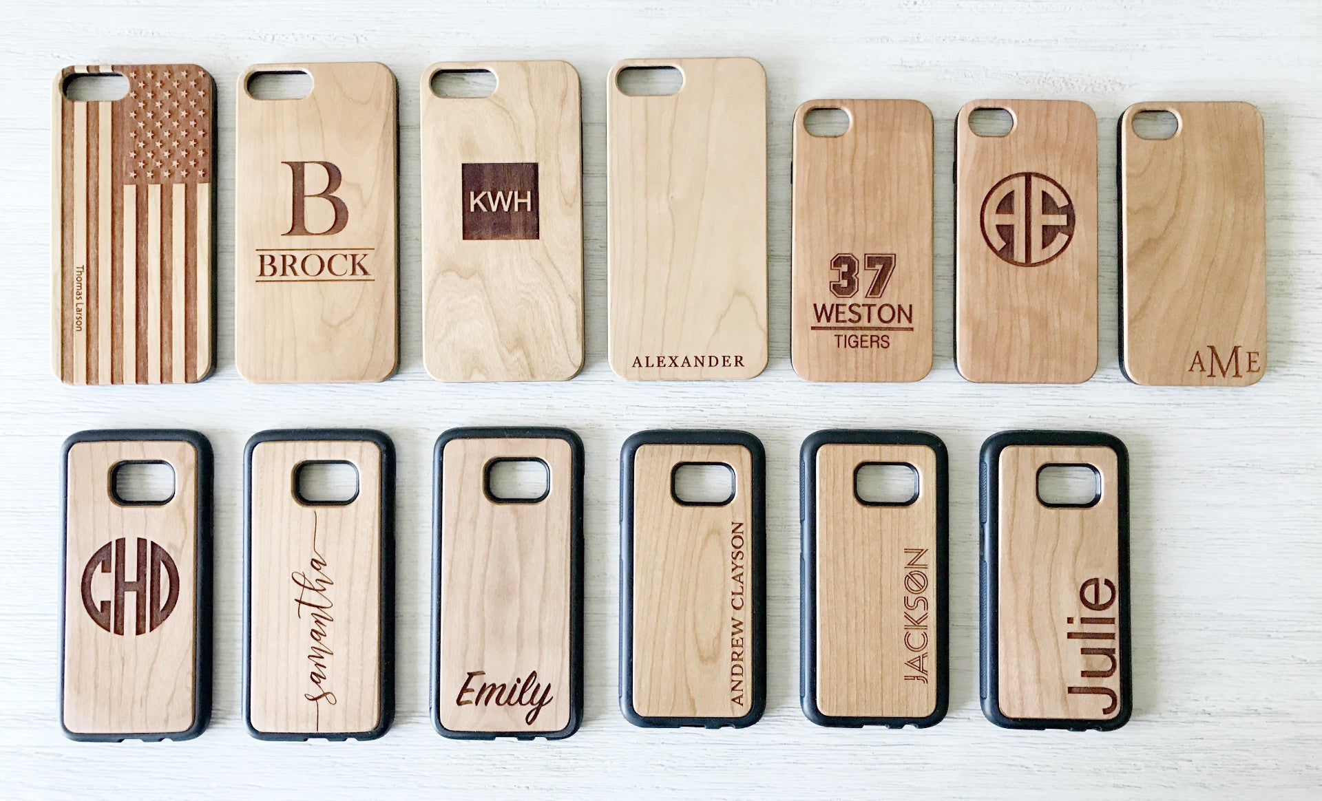 quality design e8c6a aeec1 Custom Wood Phone Cases
