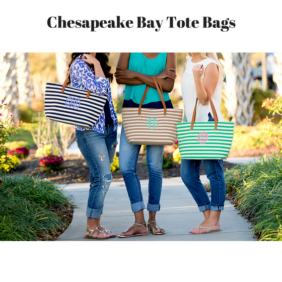 Chesapeake Bay Tote Bags - 3 Color Options