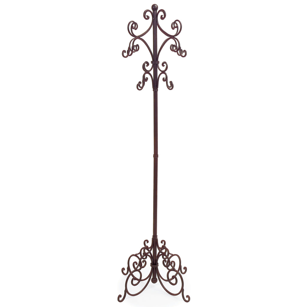 Iron Scroll Coat Rack - Premier Home & Gifts