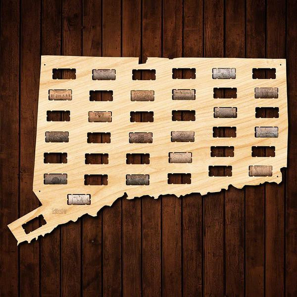 Connecticut Wine Cork Sign - Premier Home & Gifts