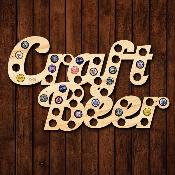 Craft Beer Bottle Cap Sign - Premier Home & Gifts