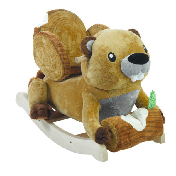 Bucky the Beaver Toy Rocker - Premier Home & Gifts