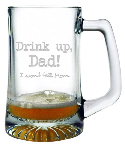 Drink Up Dad Beer Mug