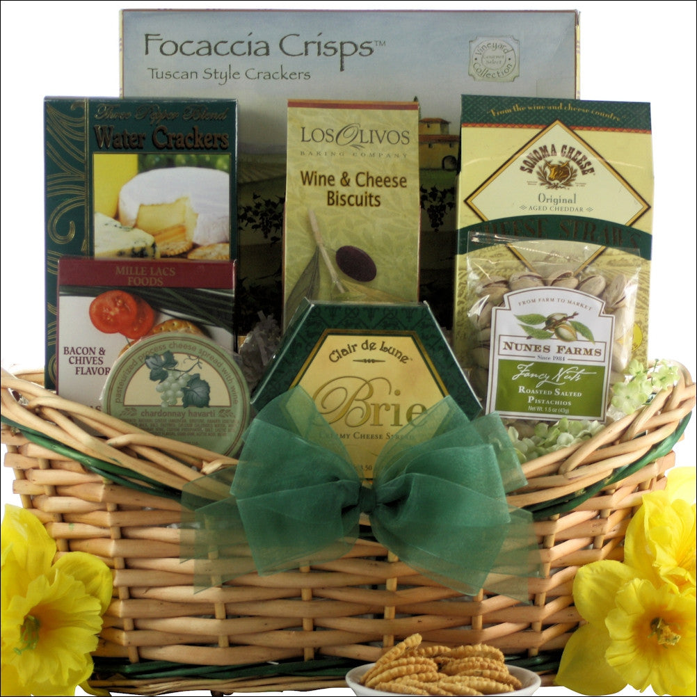Tempting Easter Cheese Delights Gourmet Cheese Easter Gift Basket