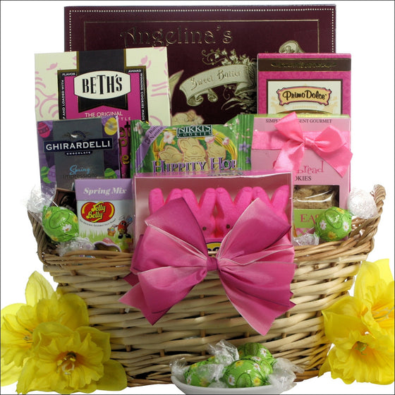 Delightful Easter Chocolate and Sweets Easter Gift Basket