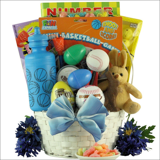 Egg-Streme Sports: Easter Gift Basket for Boys Ages 6-9 Years Old