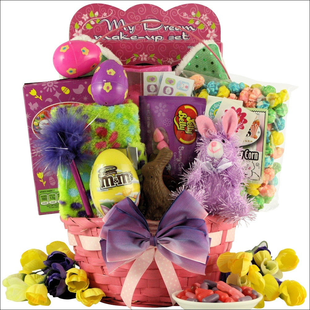 Egg streme glamour easter gift basket for girls ages 6 9 years old negle Image collections