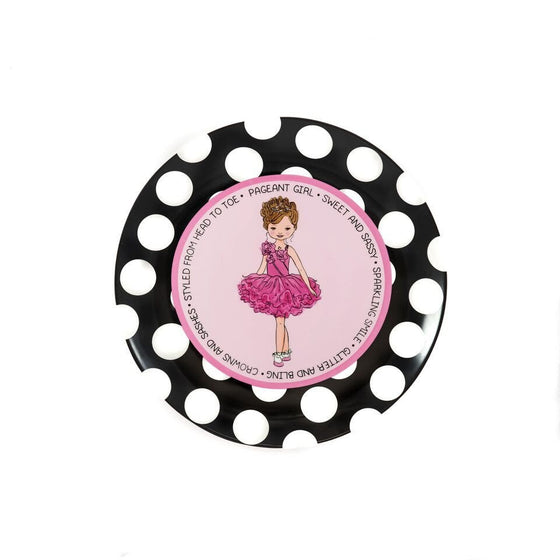 Pageant Princess - Brunette - Commemorative Plate | Premier Home & Gifts