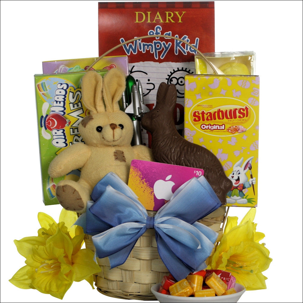 Cool dude easter gift basket for tween boys ages 10 13 years old negle Images