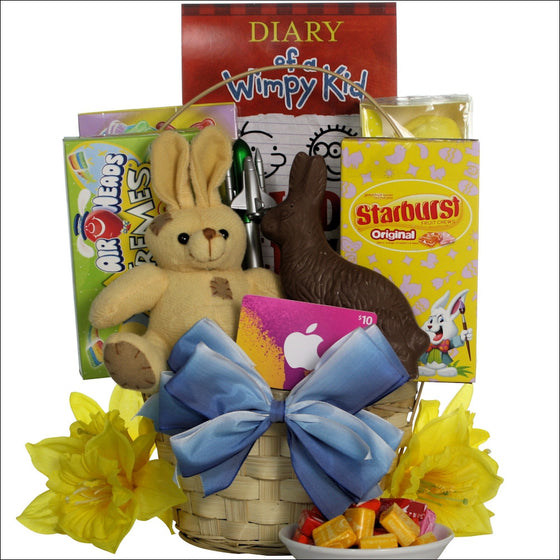 Cool Dude Easter Gift Basket for Tween Boys Ages 10-13 Years Old