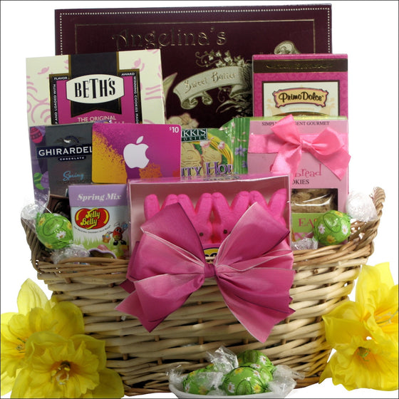 Gift baskets at premier home gifts itunes cool easter treats teen tween easter gift basket negle Image collections