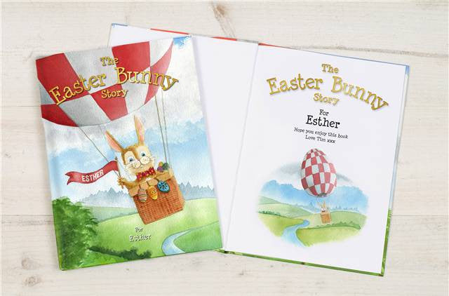 Easter Bunny Story Book - Personalized