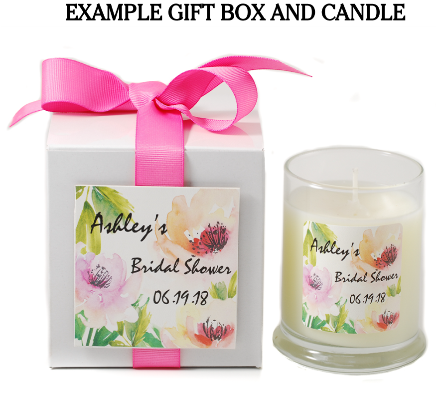 Example of Gift Box and Candle