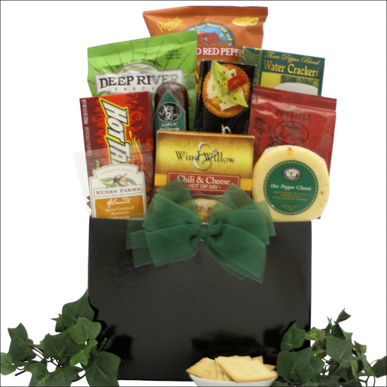 Hot & Spicy Gourmet Gift Basket - Premier Home & Gifts