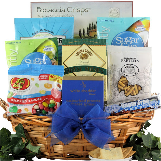 Happy Father's Day Sugar Free Gourmet Gift Basket - Premier Home & Gifts