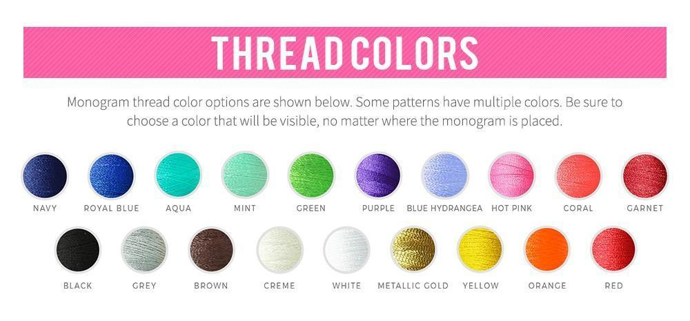 Thread Colors - Premier Home & Gifts