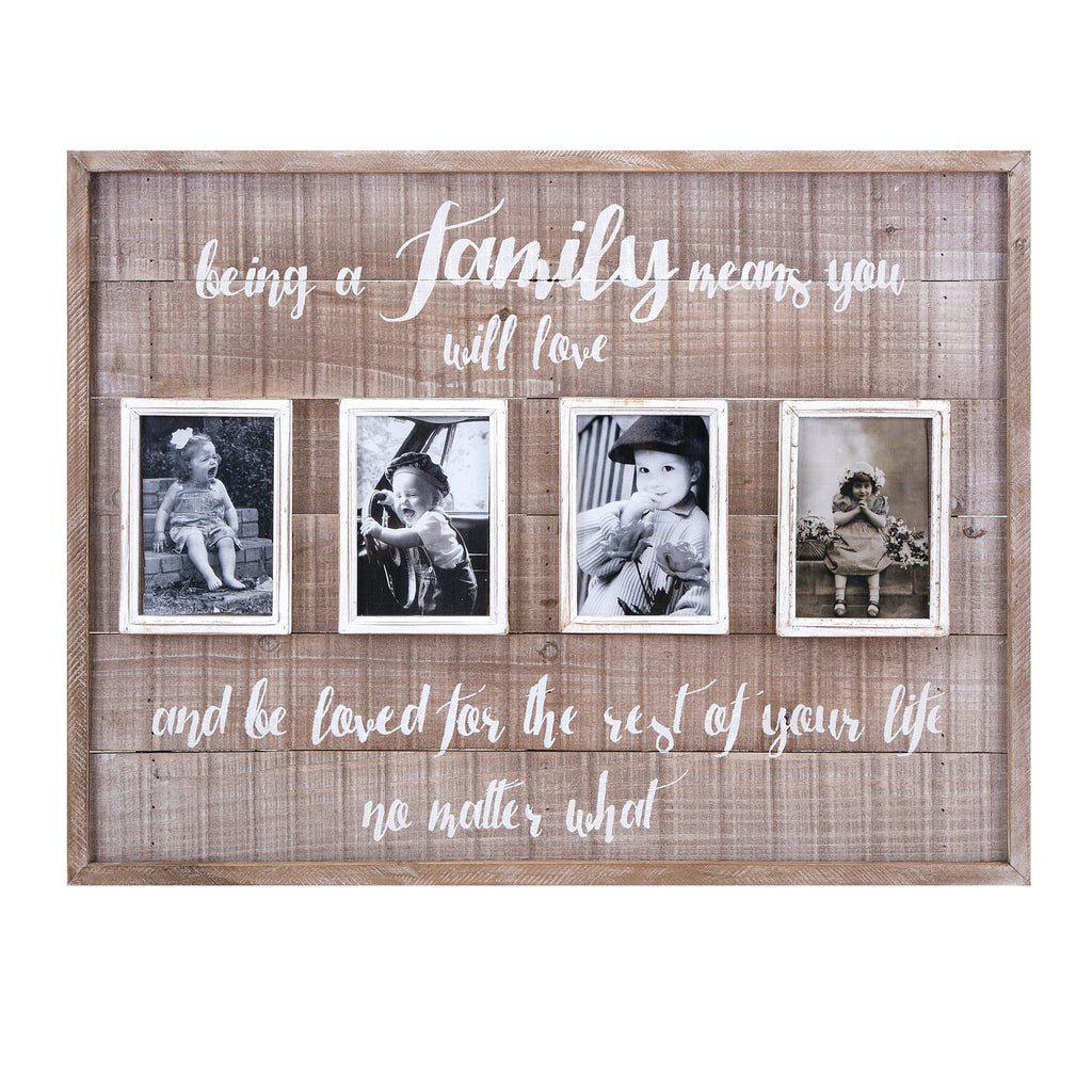 Family Wall Picture Collage Frame - Photo Frame Family Pictures Home Decor