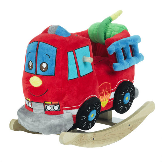 Fire Truck Toy Rocker - Premier Home & Gifts