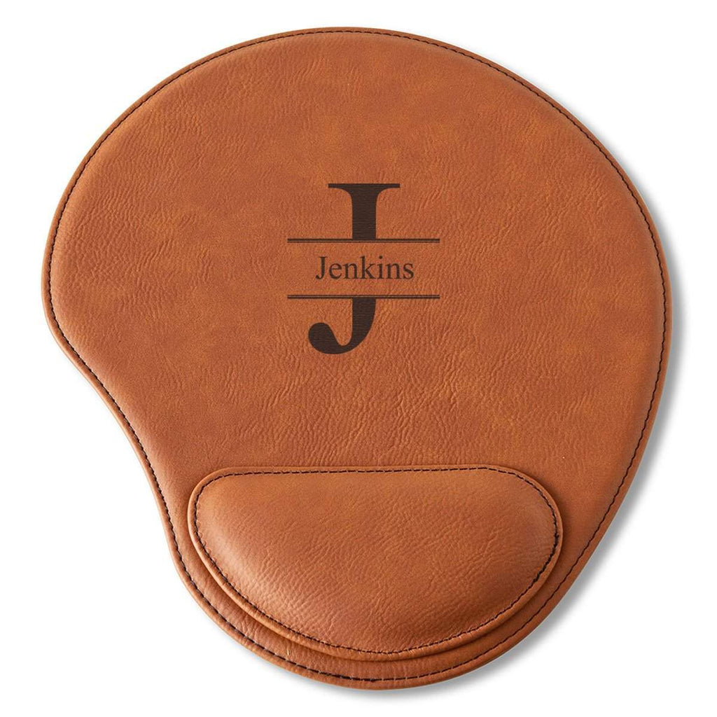 Leather Mouse Pad Personalized Gifts Office Gifts for Him