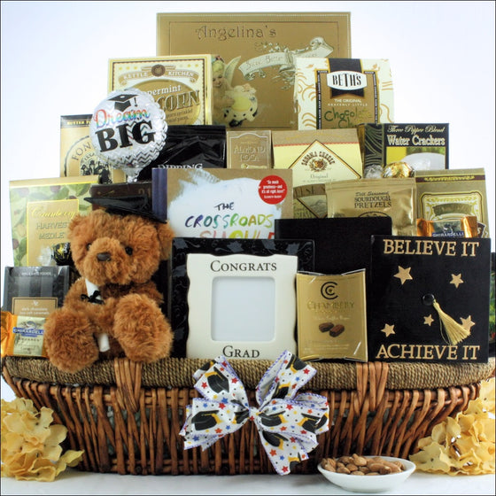 Believe It Achieve It Graduation Gift Basket