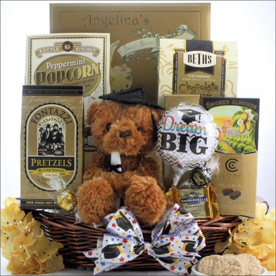 Dream Big Graduation Gift Basket - Premier Home & Gifts