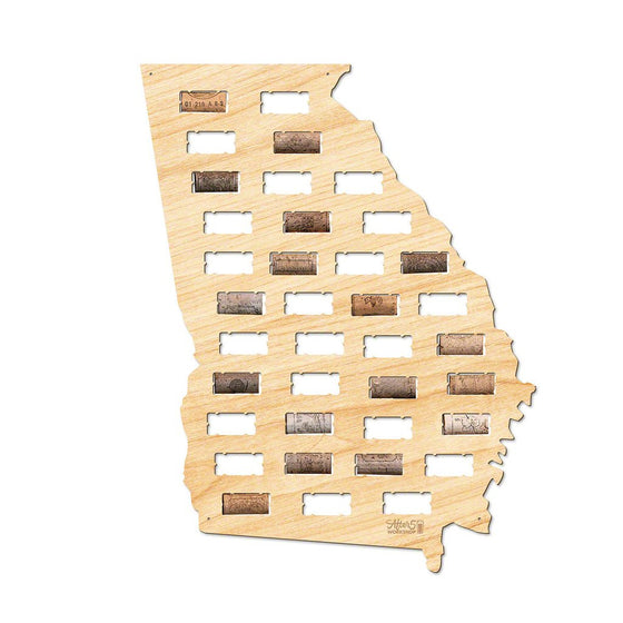 Georgia Wine Cork Sign - Premier Home & Gifts