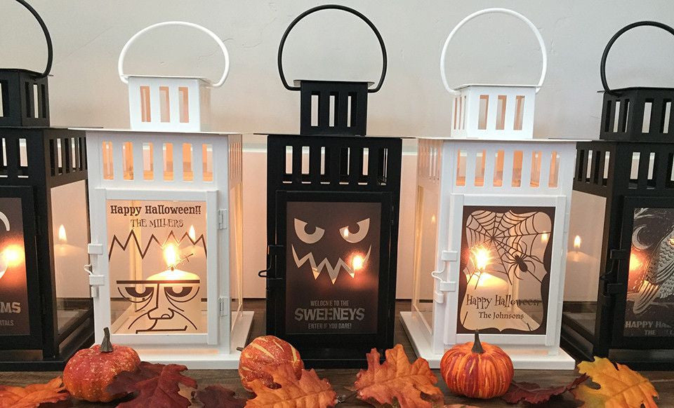Halloween Personalized Lanterns - Premier Home & Gifts