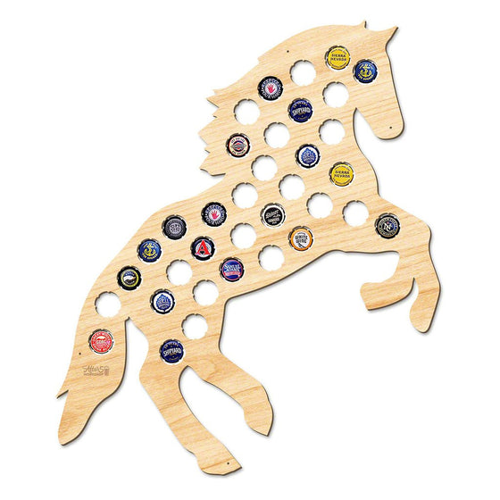 Stallion Horse Beer Cap Sign - Premier Home & Gifts