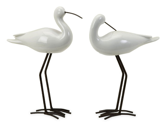 Ceramic Seabirds ~ Set of 2