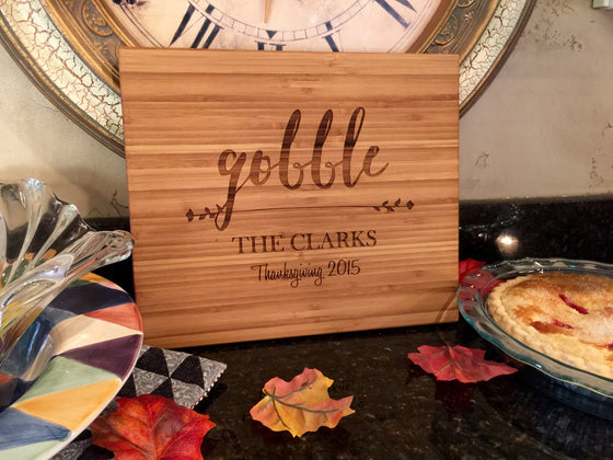 Gobble Bamboo Wood Board