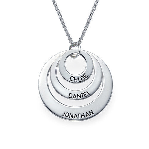 Just For You Three Disc Necklace