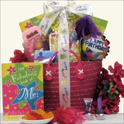 iTunes Girl Teen Birthday Gift Basket - Premier Home & Gifts