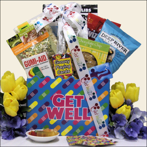 iTunes Get Well Teen Gift Basket - Ages 13 and Up