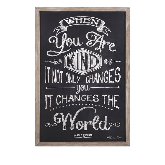 Kindness Changes Wall Art - Premier Home & Gifts
