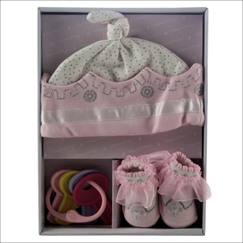 Little Princess Baby Girl Gift Basket - Premier Home & Gifts