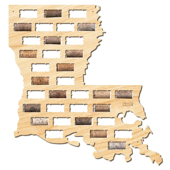 Louisiana Wine Cork Sign - Premier Home & Gifts