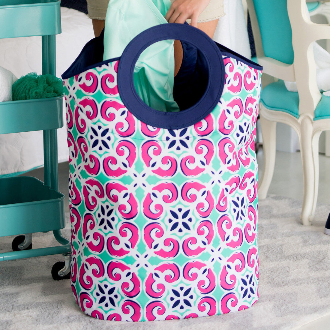 Mia Personalized Tote And Laundry Bag