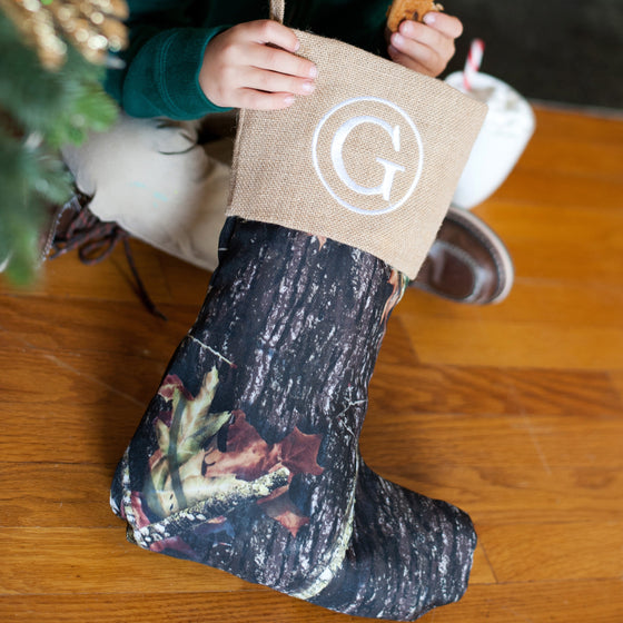Christmas Stocking - Camo Design - Premier Home & Gifts
