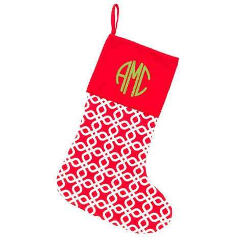 Christmas Stocking - Kringle Design | Premier Home & Gifts