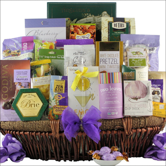 Mother's Day Extravagant Spa Gourmet Gift Basket | Premier Home & Gifts