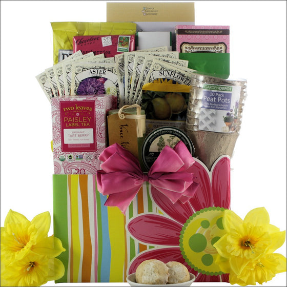 Mother's Day Taste of Spring Gourmet Gift Basket - Premier Home & Gifts