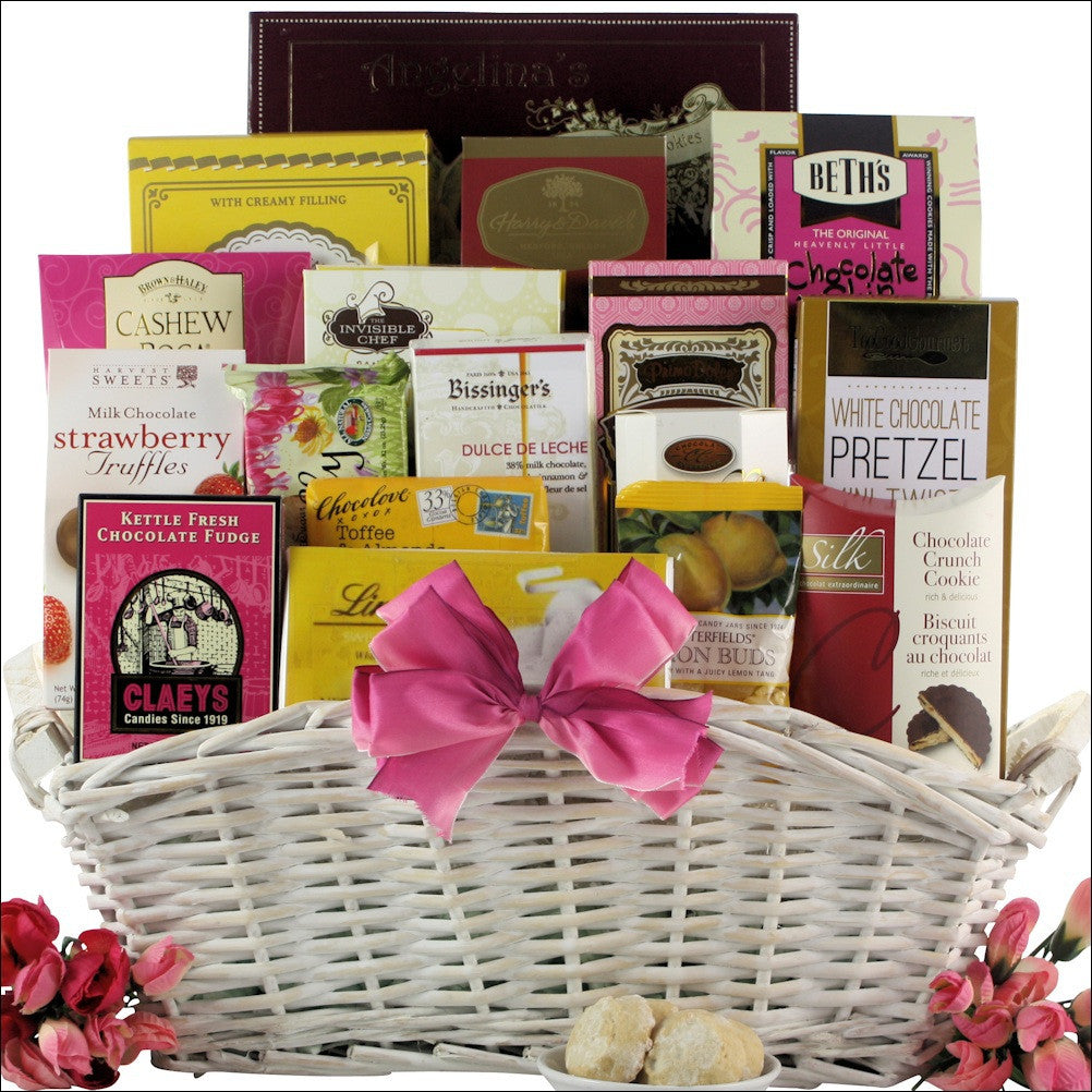 Mother's Day Sweet Treats Gourmet Gift Basket | Premier Home & Gifts