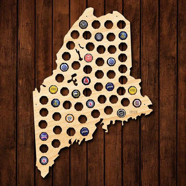 Maine Beer Cap Sign - Premier Home & Gifts