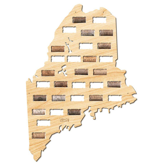 Maine Wine Cork Sign - Premier Home & Gifts