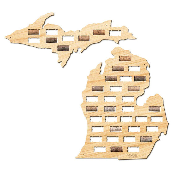 Michigan Wine Cork Sign - Premier Home & Gifts
