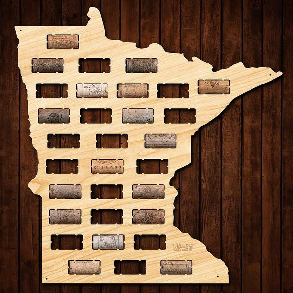 Minnesota Wine Cork Sign - Premier Home & Gifts