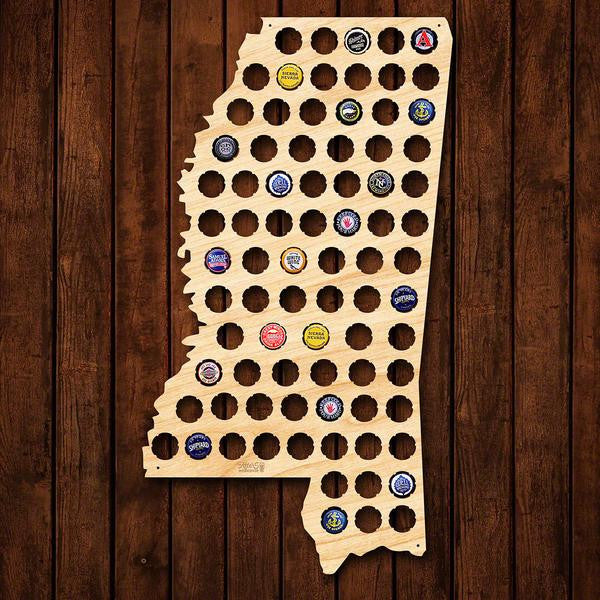 Mississippi Beer Cap Sign - Premier Home & Gifts