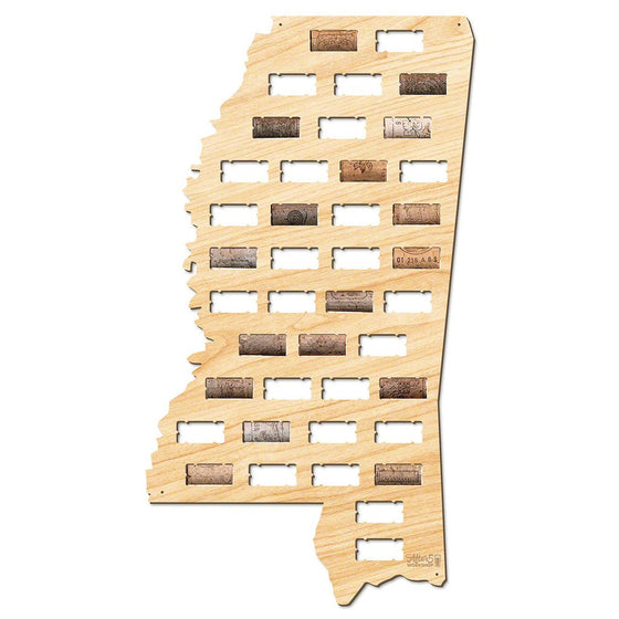 Mississippi Wine Cork Sign - Premier Home & Gifts