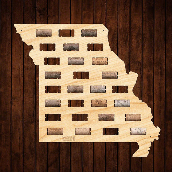 Missouri Wine Cork Sign - Premier Home & Gifts