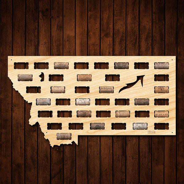 Montana Wine Cork Sign - Premier Home & Gifts